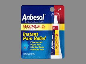 Anbesol Maximum Strength