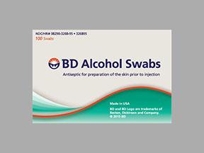 Bd Swab Single Use Regular