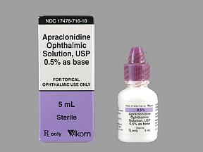 Apraclonidine Hcl